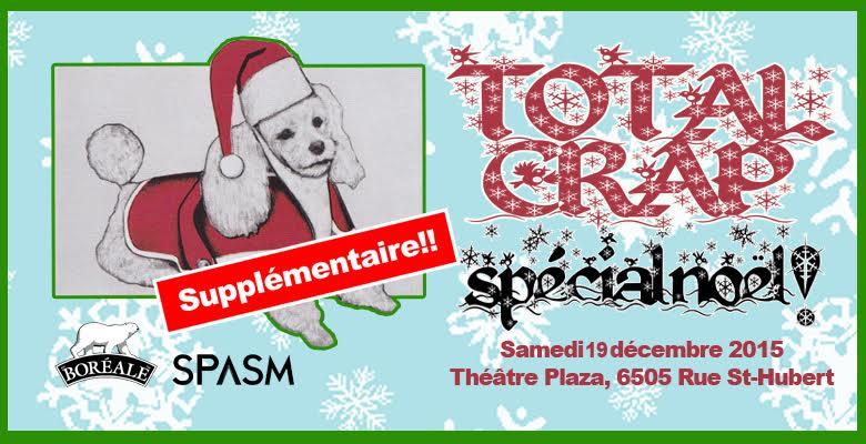 Total Crap – Spécial Noël