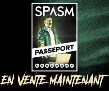 Les Passeports SPASM 2019 sont maintenant en vente!