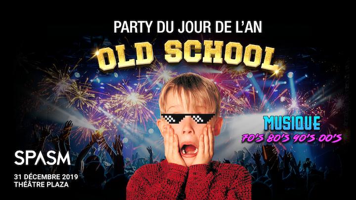 Party Jour de l'an OLD SCHOOL 2020